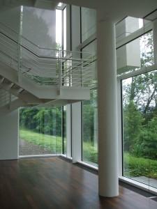 Arp Museum - Ausblick Untergeschoss