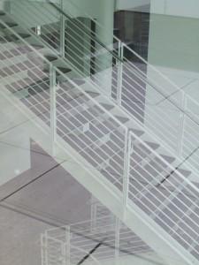 Arp Museum - Treppe mit Reflexion