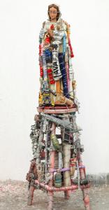 C.O. Paeffgen - Madonna in der Schatzkammer, 2001-13