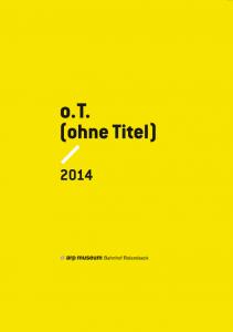 Katalog Salon Verlag, o.T., Arp Museum 2014
