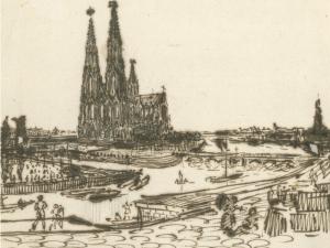 Kronprinz Friedrich Wilhelm - Kölner Dom auf der Spreeinsel