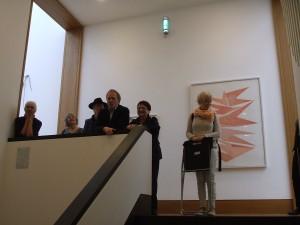 Kunstbetrachtung Galeriehaus Clement & Schneider 09.2015