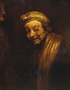 Rembrandt - Selbstbildnis als Zeuxis, um 1662