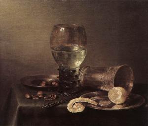 Willem Claesz Heda - Stilleben (1632)