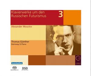 Klavierwerke um den Russischen Futurismus Vol. 3