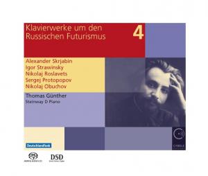 Klavierwerke um den Russischen Futurismus Vol. 4