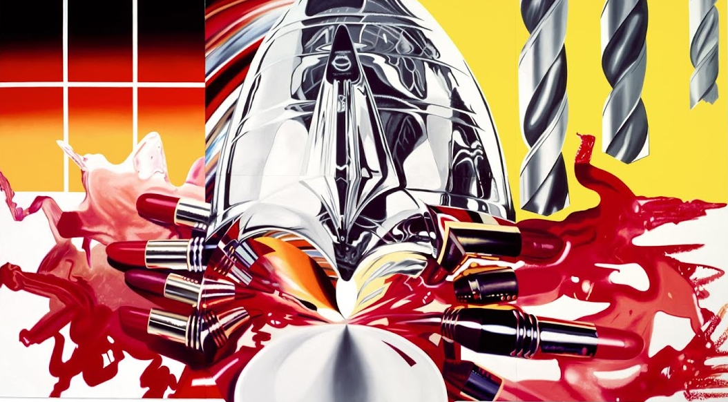 ich wei noch immer nicht was pop art bedeutet james rosenquist werkschau in k ln der. Black Bedroom Furniture Sets. Home Design Ideas